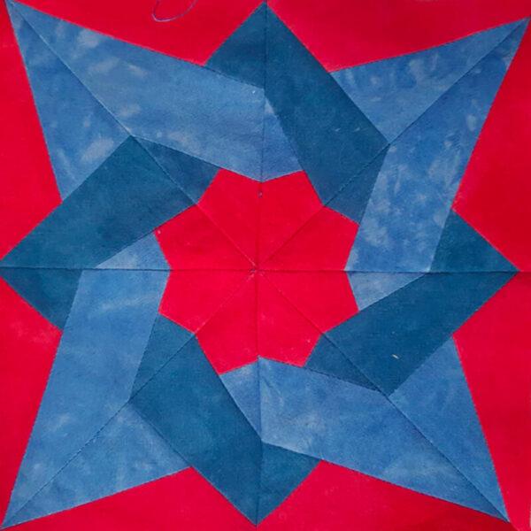 Tangled Star Block Quilt Pattern