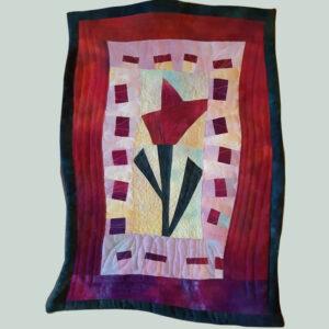 Tulip design quilt